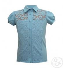 Купить блузка белый слон, цвет: голубой ( id 12773842 )