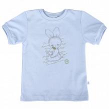 Купить футболка бамбук, цвет: голубой ( id 11146922 )