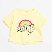 Купить футболка coccodrillo, цвет: желтый ( id 12803668 )