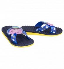 Шлепанцы Kakadu Свинка Пеппа, цвет: синий/желтый ( ID 5165509 )