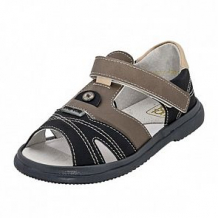 Купить сандалии топ-топ, цвет: черный/серый ( id 12506272 )