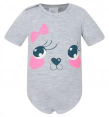 Купить боди aga baby, цвет: серый ( id 8230255 )