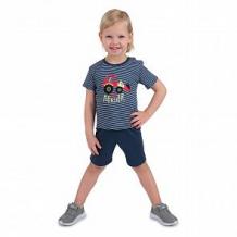 Купить комплект футболка/шорты мелонс dino, цвет: серый ( id 11207648 )
