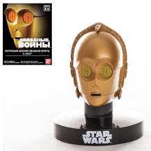 Купить star wars bandai 84635 звездные войны шлем пилот c3po 6,5 см