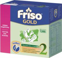 Купить friso заменитель new 2 gold lock nutri 6-12 мес 1200 г 408104