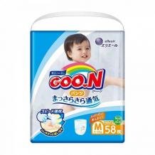 Купить goon подгузники-трусики m (6-12 кг) 58 шт. 753461//853626