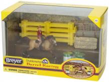 Купить breyer набор вестерн-баррел 5377