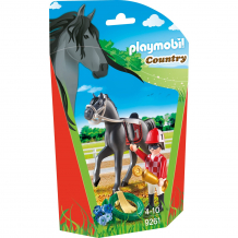 Купить конструктор playmobil конный спорт: наездник 9261pm