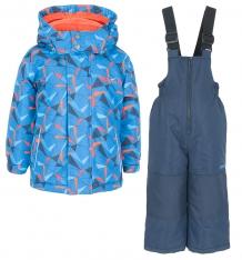 Купить комплект куртка/полукомбинезон zingaro by gusti, цвет: синий ( id 9911247 )