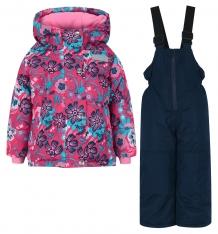 Купить комплект куртка/полукомбинезон salve by gusti, цвет: розовый/голубой ( id 9820344 )
