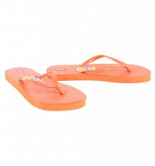 Купить шлепанцы forio, цвет: оранжевый ( id 8687845 )