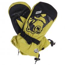 Купить варежки сноубордические pow bear claw rust yellow желтый,черный 1103987