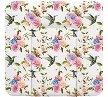 Купить ceba baby пеленальный матрас мягкий flora & fauna 70х75 см w-144-099