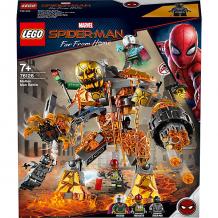 Купить конструктор lego super heroes 76128: бой с расплавленным человеком ( id 11140994 )