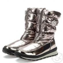 Купить ботинки keddo, цвет: серебряный ( id 12012442 )