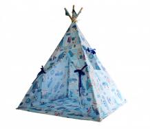 Купить доммой вигвам кораблики с ковриком 1du10vk