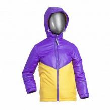 Купить куртка ursindo, цвет: желтый/фиолетовый ( id 12254236 )