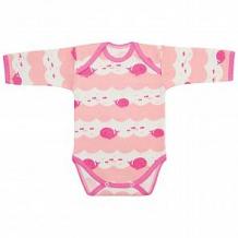 Купить боди чудесные одежки, цвет: розовый/белый ( id 12491722 )