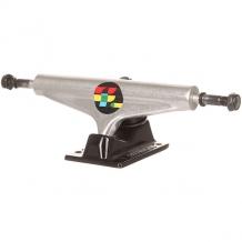 Купить подвески для скейтборда 2шт. footwork kvadrat silver/black 5.5 (21 см) серый ( id 1204648 )