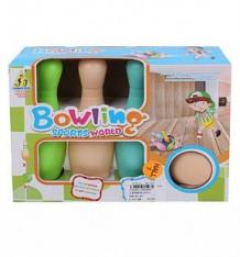Купить игровой набор наша игрушка для боулинга (2 кегли) ( id 10403699 )