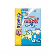 Купить goon подгузники-трусики l (9-14 кг) для мальчика 56 шт. 853156/853507