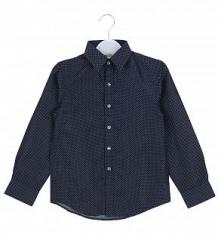 Купить рубашка deloras, цвет: синий ( id 9399385 )
