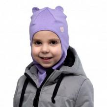 Купить шапка-шлем hohloon, цвет: сиреневый ( id 12605188 )