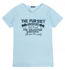 Купить футболка tuffy, цвет: голубой ( id 9890208 )