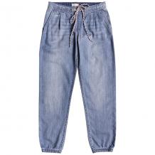 Купить джинсы прямые детские roxy makeusfeelalive medium blue синий ( id 1200549 )