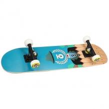 Купить скейтборд в сборе детский юнион insider blue/multi 28 x 7 (17.8 см) голубой,мультиколор