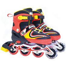 Купить роликовые коньки 1toy, красные 11392232