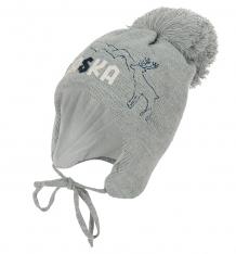Купить шапка ewa alaska, цвет: серый ( id 9806448 )