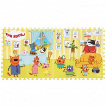 """Купить коврик-паззл """"три кота"""" играем вместе играем вместе 997139213"""