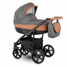 Купить коляска 3 в 1 camarelo baleo, цвет: серый/коричневый ( id 10515206 )