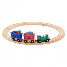 Купить деревянная игрушка melissa & doug железная дорога набор животные зоопарк 643