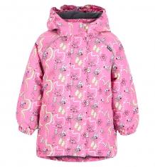 Купить куртка lappi kids viima, цвет: розовый ( id 6456337 )