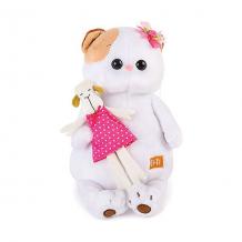 Купить мягкая игрушка budi basa кошечка ли-ли с овечкой, 24 см ( id 7231233 )