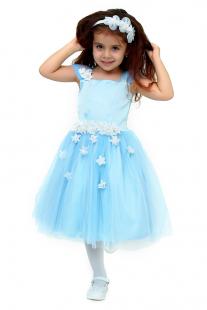 Купить платье с брошью ladetto ( размер: 122 30-2 ), 10324624