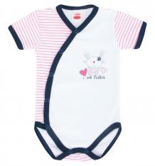 Купить боди makoma pink rabbit, цвет: белый/розовый ( id 5559841 )