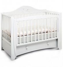 Кровать Papaloni Olivia, цвет: белый ( ID 3480322 )