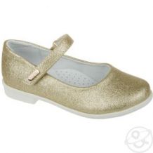 Купить туфли mursu, цвет: золотой ( id 12120598 )