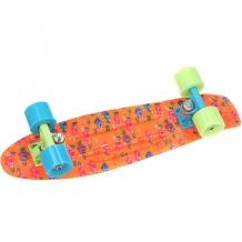 Купить скейт мини круизер пластборды warp 1 orange/multi 6 x 22.5 (57.2 см) темно-оранжевый,мультиколор 1179221