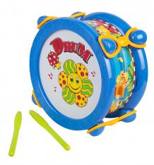 Купить барабан синий игруша цвет: синий, 18 см ( id 2628545 )