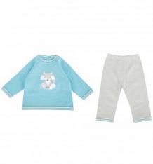 Комплект туника/брюки Leo Forest friend, цвет: бирюзовый/серый ( ID 7546225 )