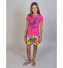 Купить футболка luminoso фламинго, цвет: фуксия ( id 10340387 )