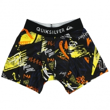 Трусы детские Quiksilver Boxer Poster Black Thunderbolts черный,мультиколор ( ID 1182451 )