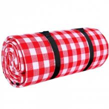 Купить игровой коврик porolon плед для пикника с водонепроницаемой подложкой клетка 150х200 см pic