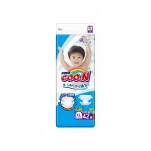 Купить goon подгузники xl (12-20 кг) 42 шт. 743314/753135/853624