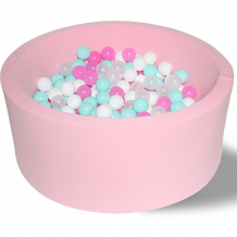 """Купить сухой бассейн hotenok """"розовая мечта"""" 40 см, 200 шариков ( id 9633772 )"""