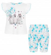 Комплект платье/шорты Sofija Navigator, цвет: белый ( ID 2676164 )